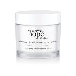 NEW! Philosophy Renewed Hope in a Jar